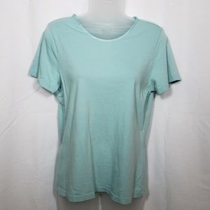Christopher & Banks Icy Blue Tee